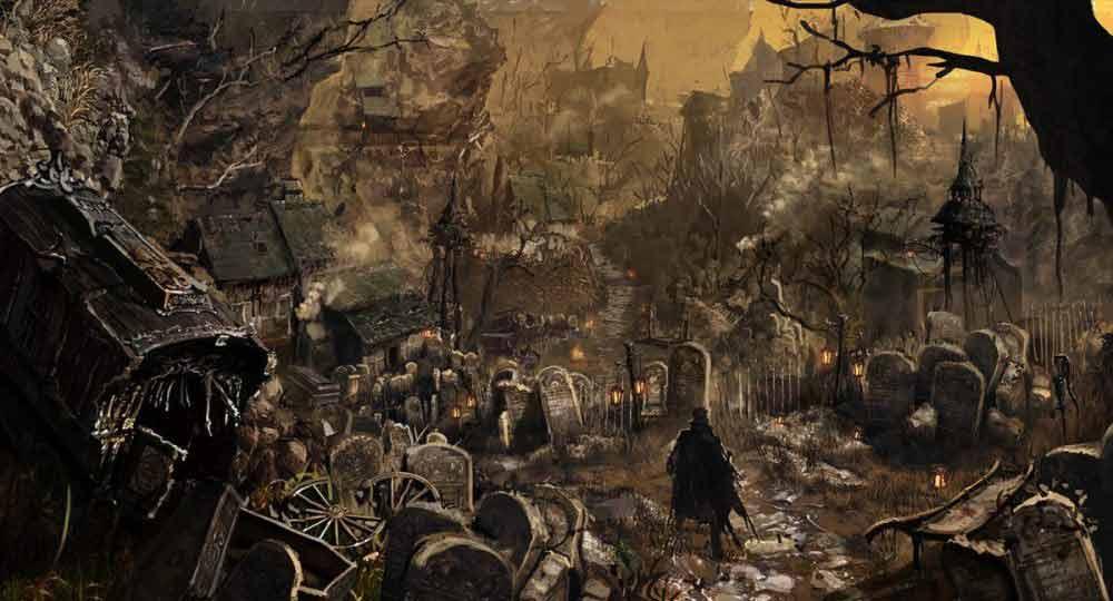 Bloodborne artwork screenshot