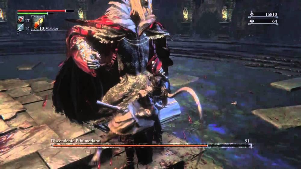 Bloodborne Discendente Pthumeriano