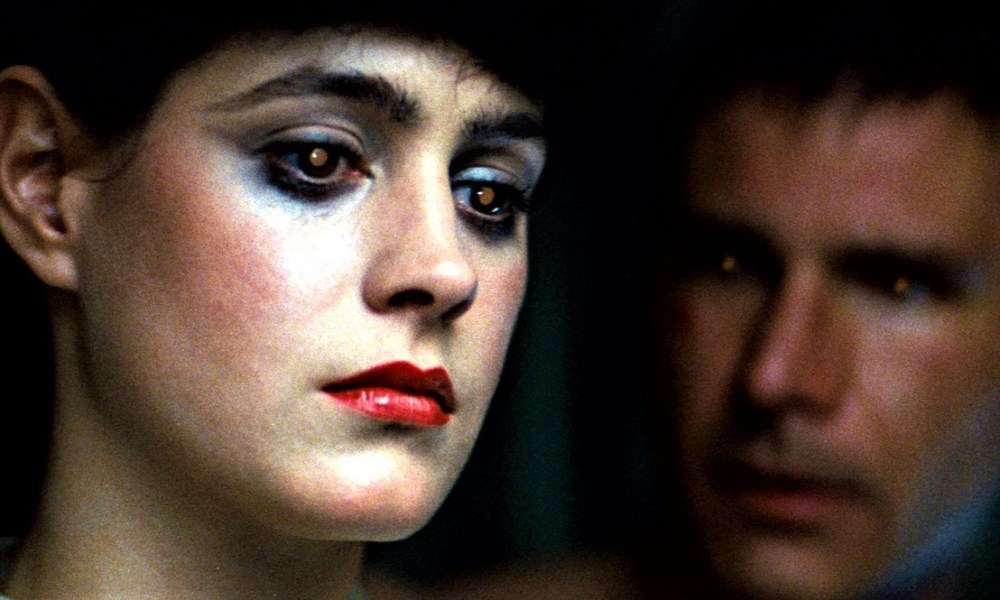 Sean Young e Harrison Ford in Blade Runner