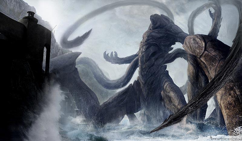 Kraken Scontro tra Titani