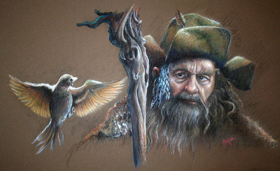 Radagast il Bruno con animali