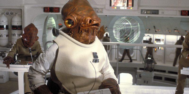 Ammiraglio Ackbar in Star Wars