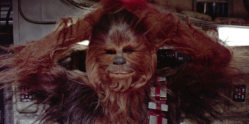 Chewbacca Wookie Star Wars