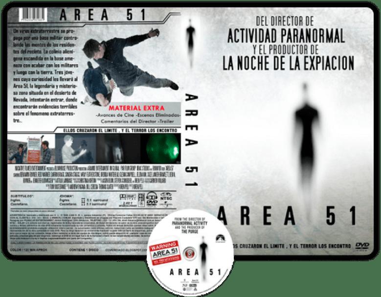 Area 51 copertina DVD acquisto