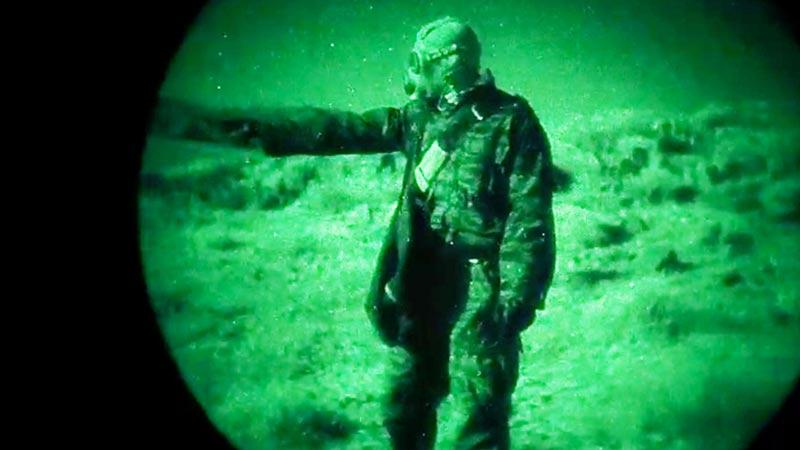 Scena del film Area 51