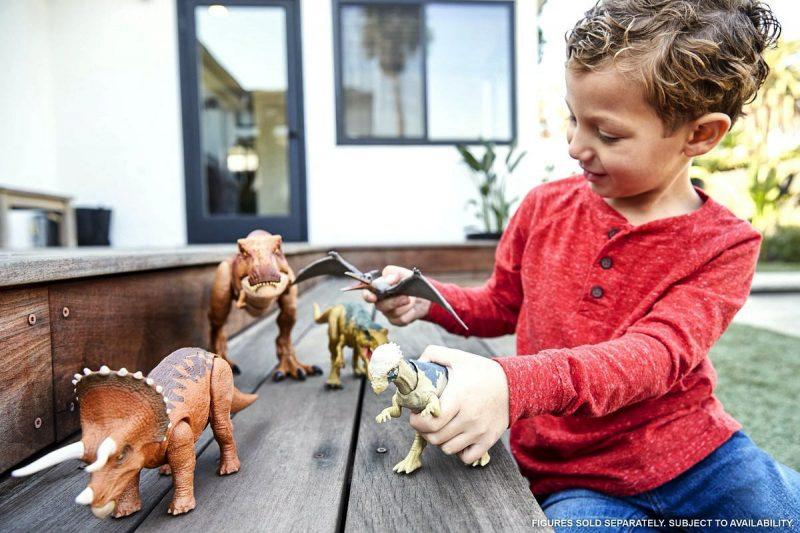 Giocattoli di Jurassic Park