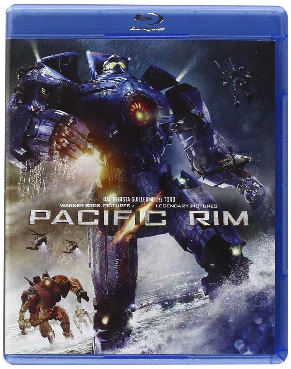 Pacific Rim di Del Toro Blu-ray