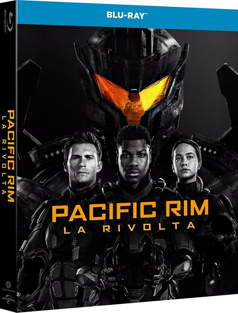 Blu ray di Pacific Rim Uprising