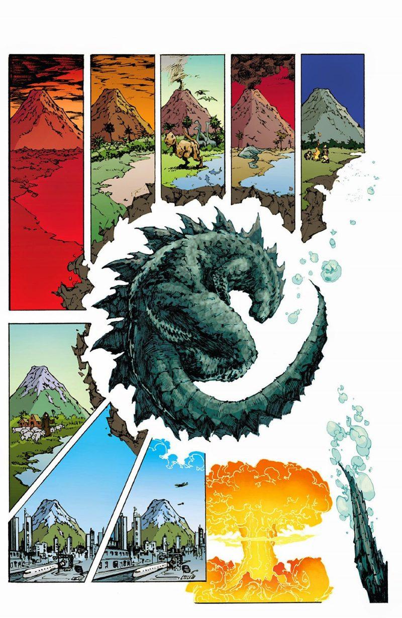 Dagon Godzilla antico fumetti