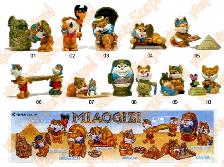 Miaogizi personaggi Kinder