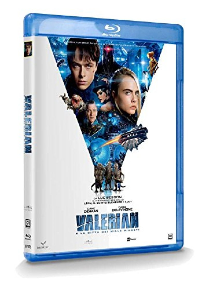 Blu-Ray Valerian su Amazon