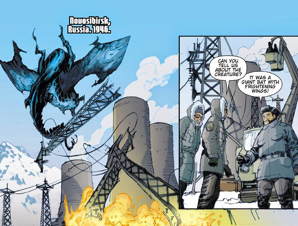 Shinomura pipistrello Kaiju fumetti