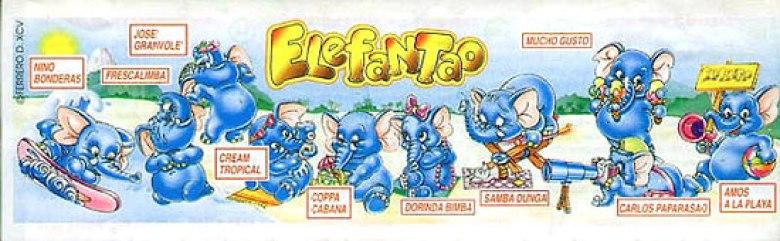 Elefantao 1997 sorprese Kinder