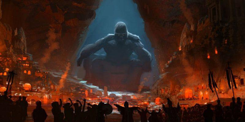 Concept art King Kong