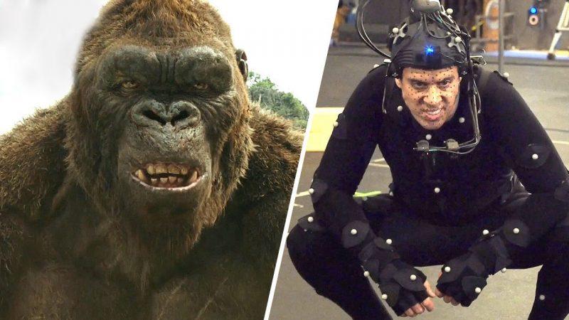 Motion capture per Kong