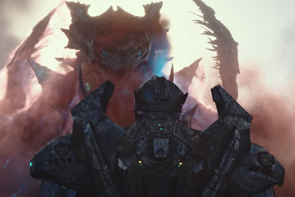 Mega Kaiju Dragon Pacific Rim 2
