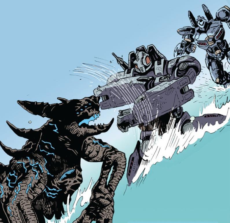 Il Kaiju Insurrector nei fumetti