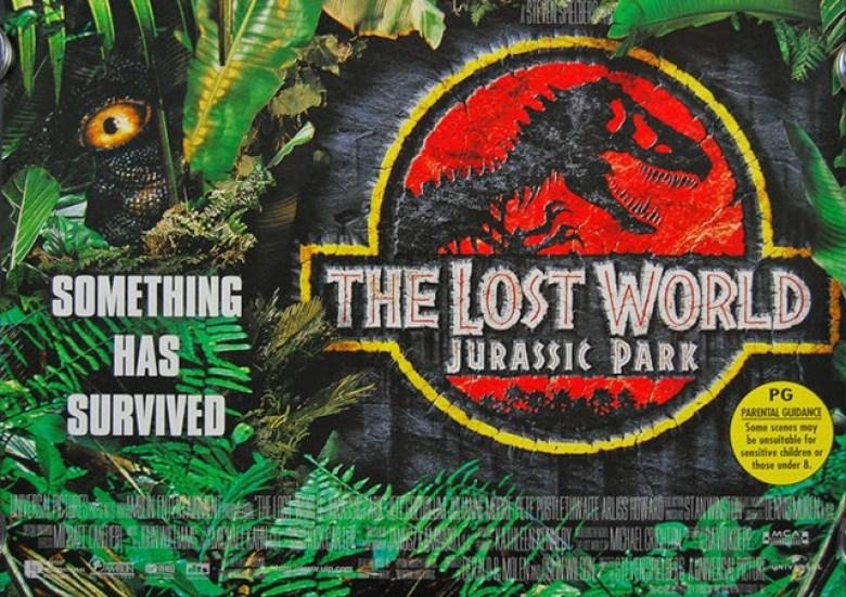 The Lost world poster tirannosauro occhio