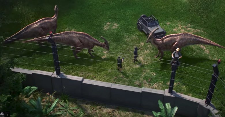 Jurassic World evolution test recinto