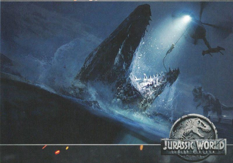 Mosasauro Elicottero Jurassic World
