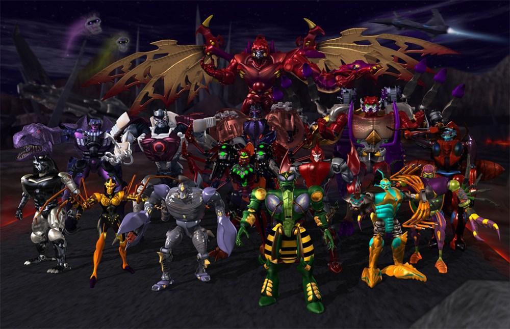 Beast Wars Transformers protagonisti