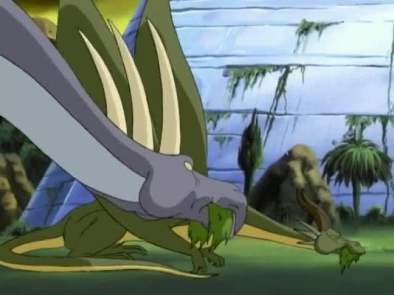 Dragon Flyz dinosauri