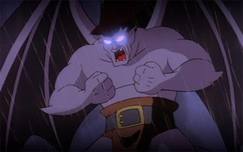 Serie Gargoyles Disney protagonista Golia