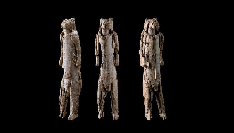 Scultura uomo leone paleolitico