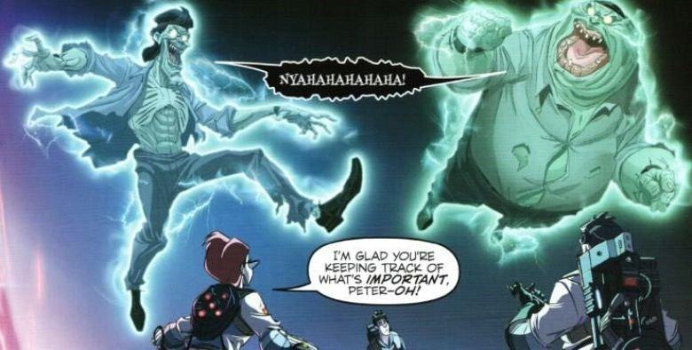Fratelli scoleri sedia elettrica Ghostbusters