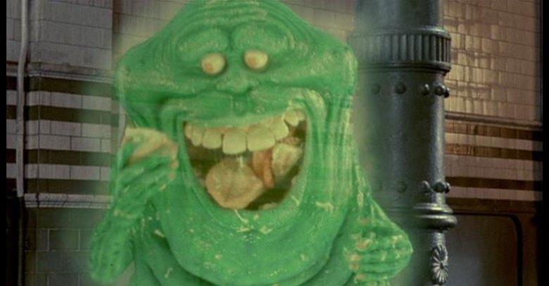 Slimer Ghostbusters fantasma