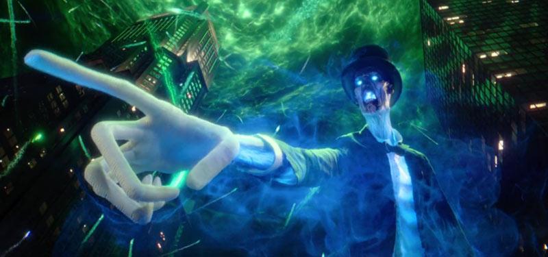 Leader fantasma Ghostbusters reboot
