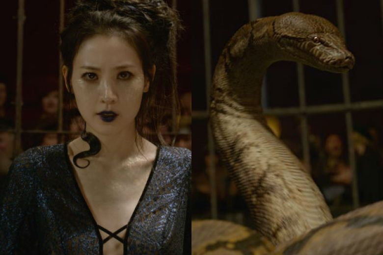 Nagini in Animali Fantastici 2