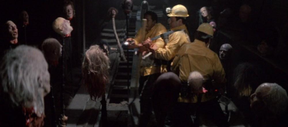 Ghostbusters 2 scena con teste impalate