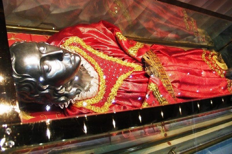 Spoglie di Santa Lucia a Venezia
