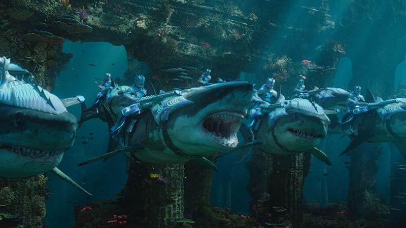Aquaman Dc squali di atlantide