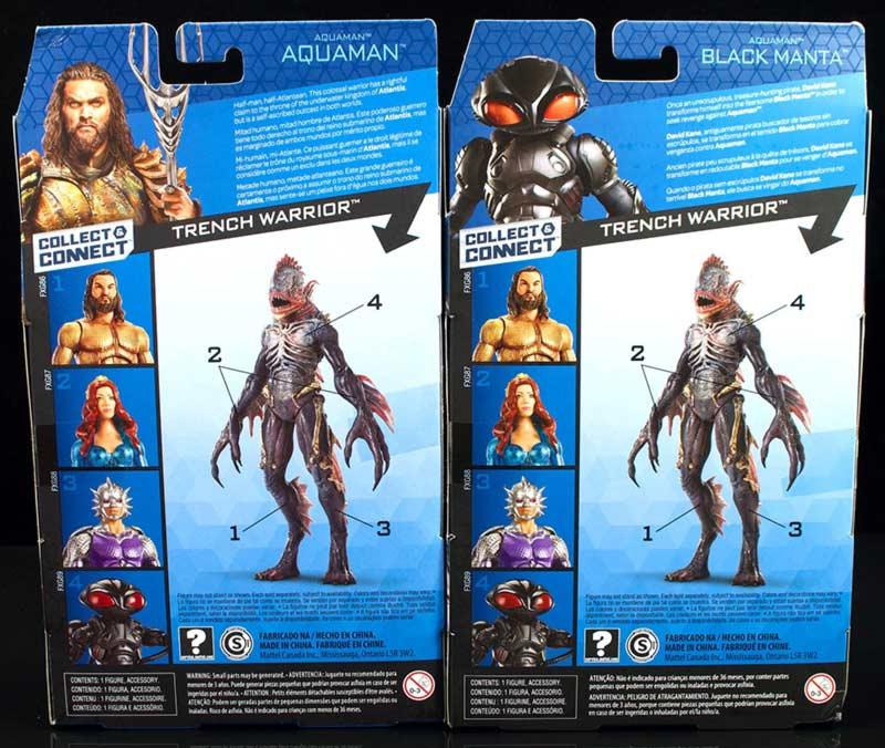 Aquaman trench warrior giocattoli Mattel