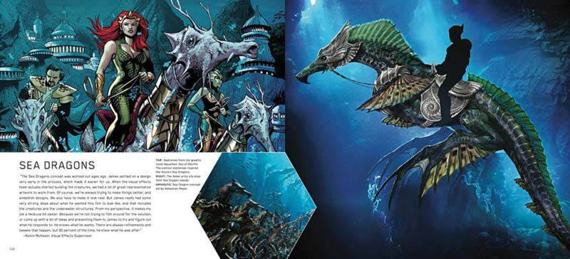 Aquaman Cavallucci marini di Xebel