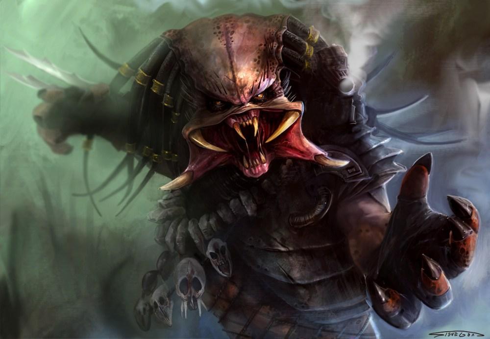 Predator Yautja art
