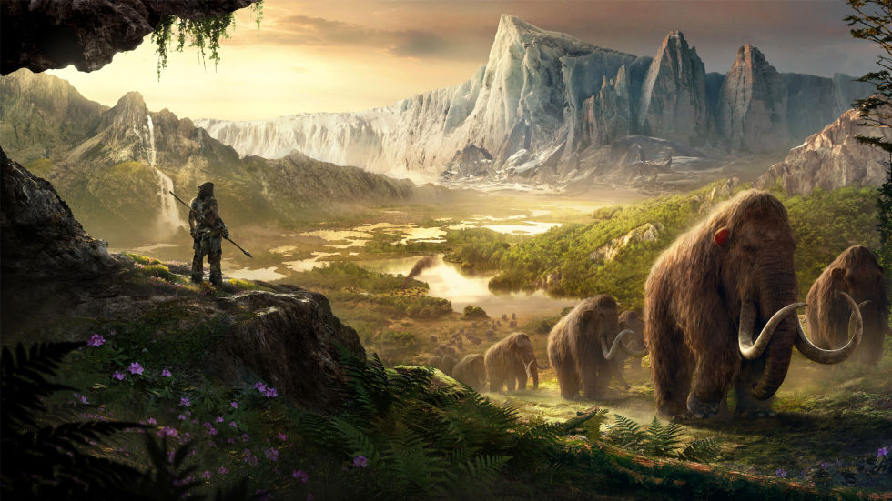 Far Cry Primal Poster Mammuth
