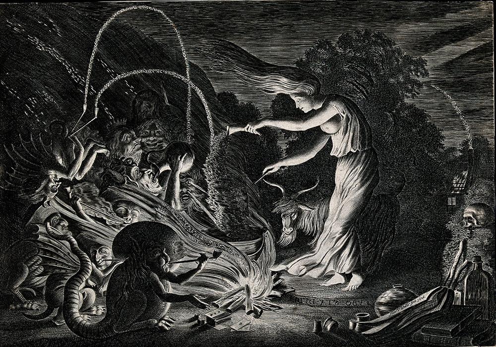 Disegno della Janara campana