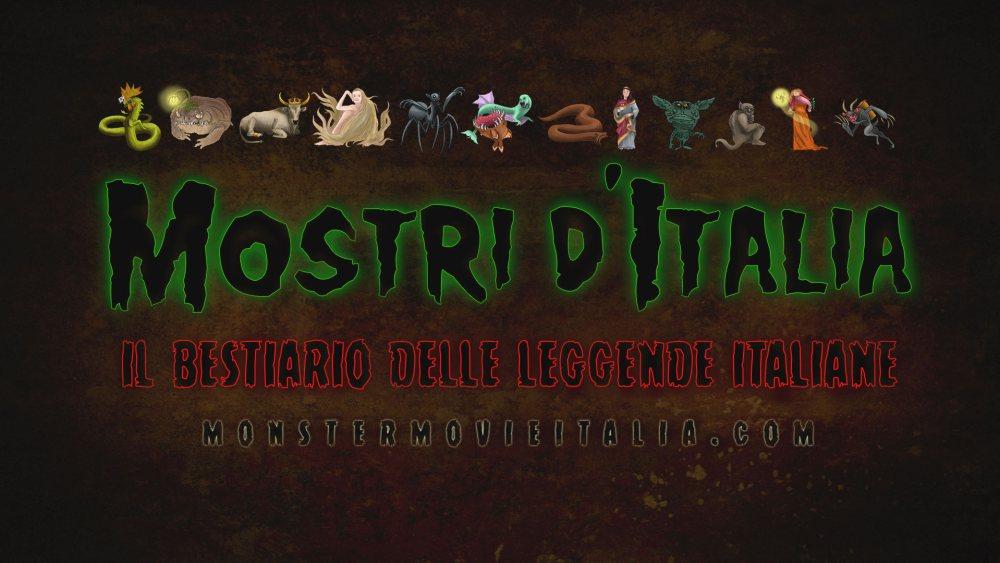 Mostri Italia cover del Bestiario