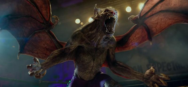 Hellboy pipistrello vampiro