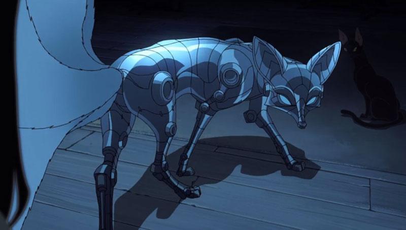 kitsune love death and robots