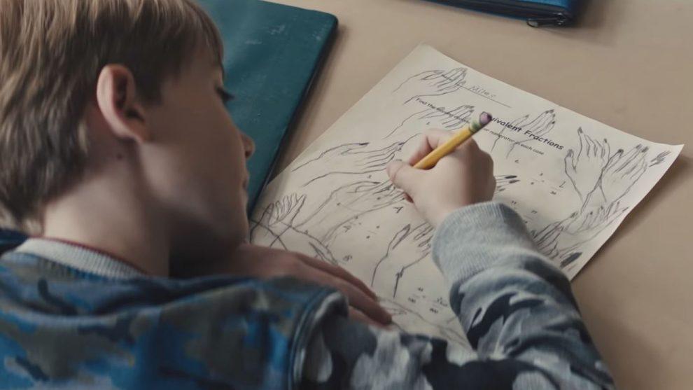 The Prodigy film disegno del bambino