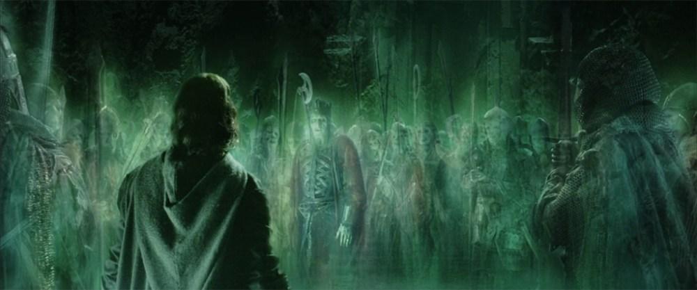 Esercito fantasmi Aragorn