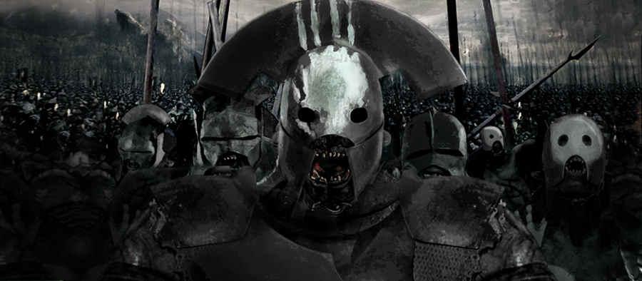 Uruk Hai Signore degli Anelli