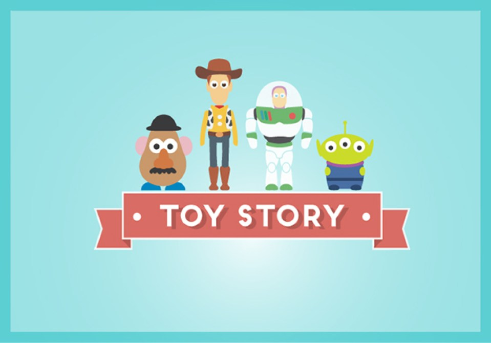 Toy Story poster personaggi