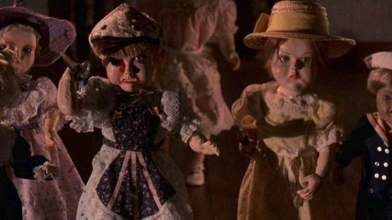 Dolls bambole scena