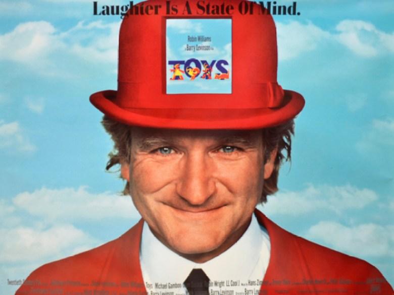 Toys Giocattoli Poster Robin Williams