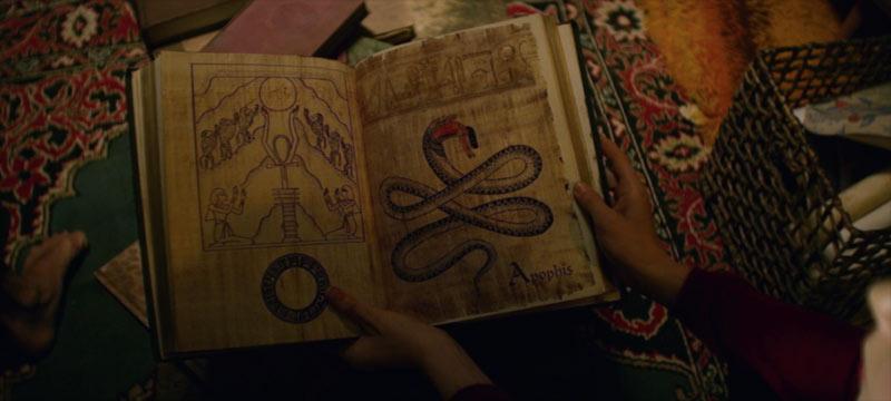 Apophis libro bestiario di Sabrina
